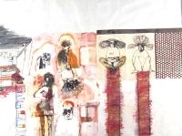 Rene de Loffre- Scroll #2-  2006