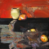 Rene de Loffre- Still Life Study- 2007