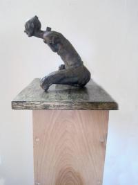 Maker of Spheres, bronze