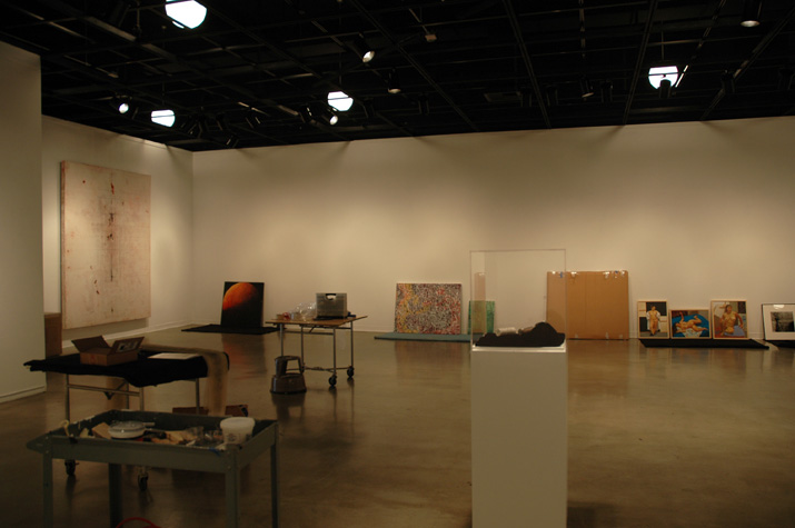 El Camino College Gallery's Main Exhibition Hall