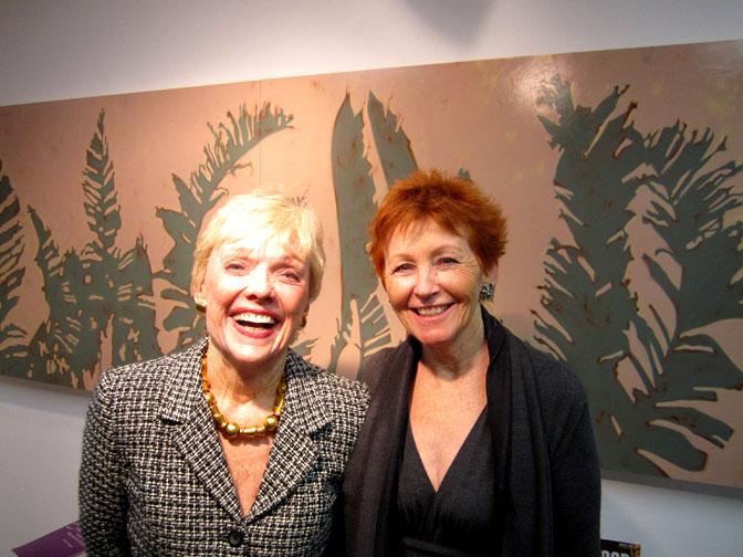 Molly Barnes and Jill Sykes