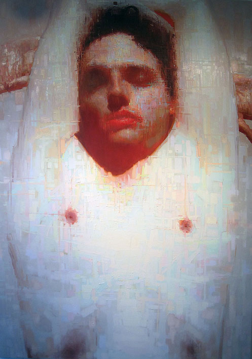 "Eric Pedersen, ""The Untitled Painting of Jonny Sleeping""  2011"